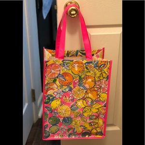 Lilly Pulitzer Reusable Tote Bag